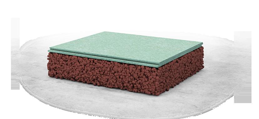 Укладка с использованием керамзитного крошки или кварцевого песка